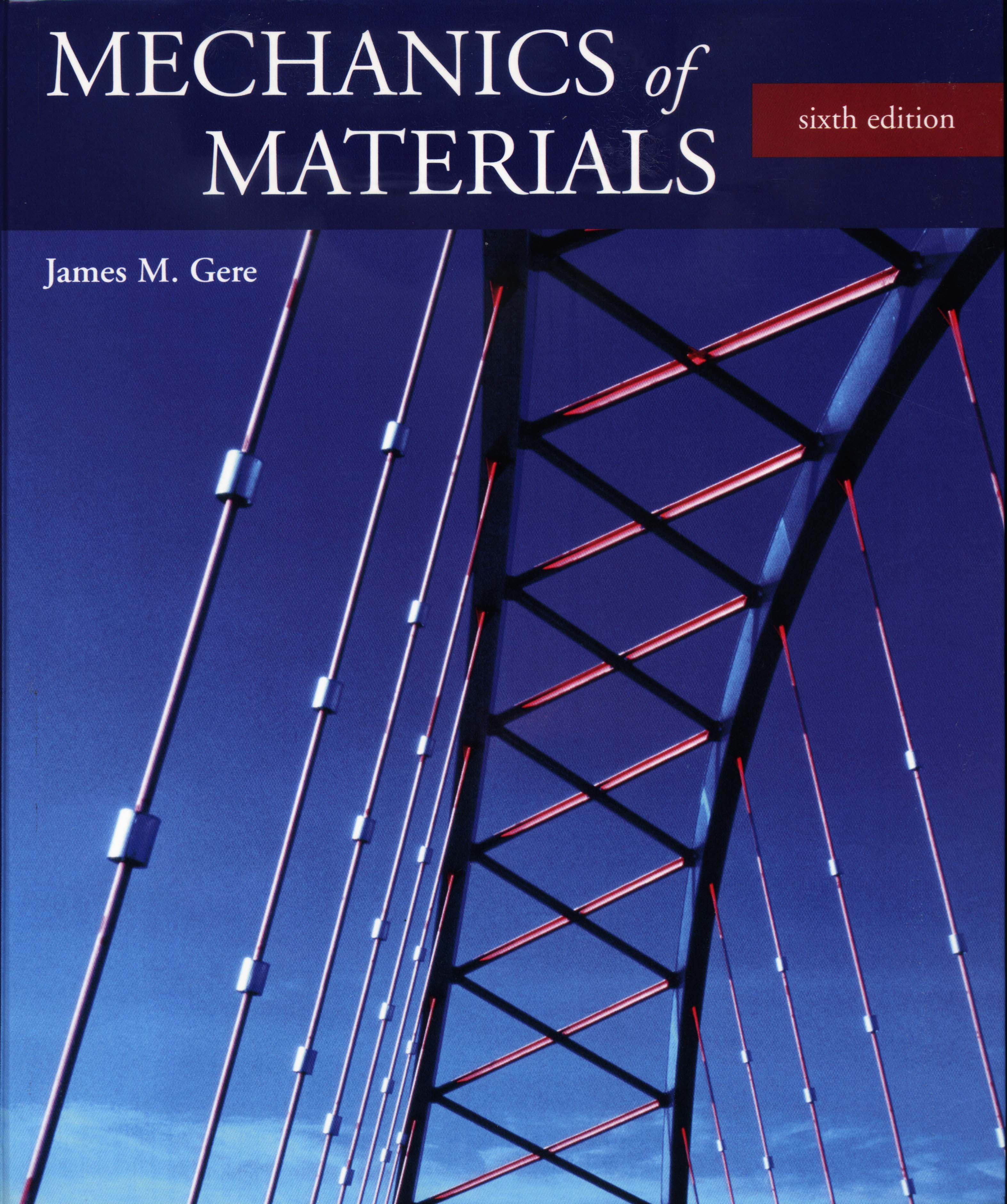 Mechanics of materials 6th edition gere solution manual pdf.